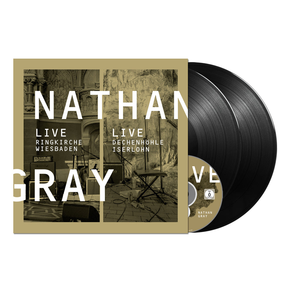 "NATHAN GRAY ""Live in Wiesbaden / Live in Iserlohn"""