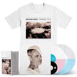"NATHAN GRAY ""Working Title"" 2xLP+DVD + T-Shirt + Book Bundle"