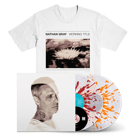 "NATHAN GRAY ""Working Title"" Deluxe 2xLP+DVD + T-Shirt Bundle"