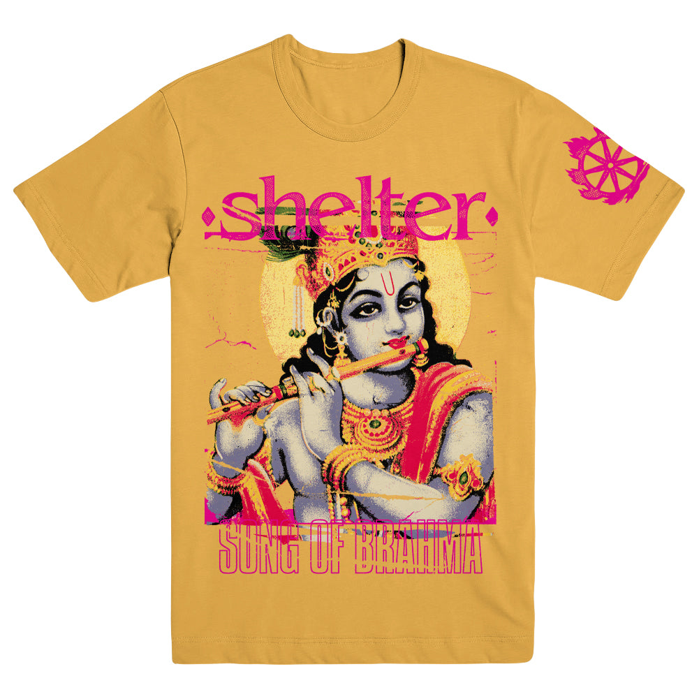 "SHELTER ""Song Of Brahma"" T-Shirt"