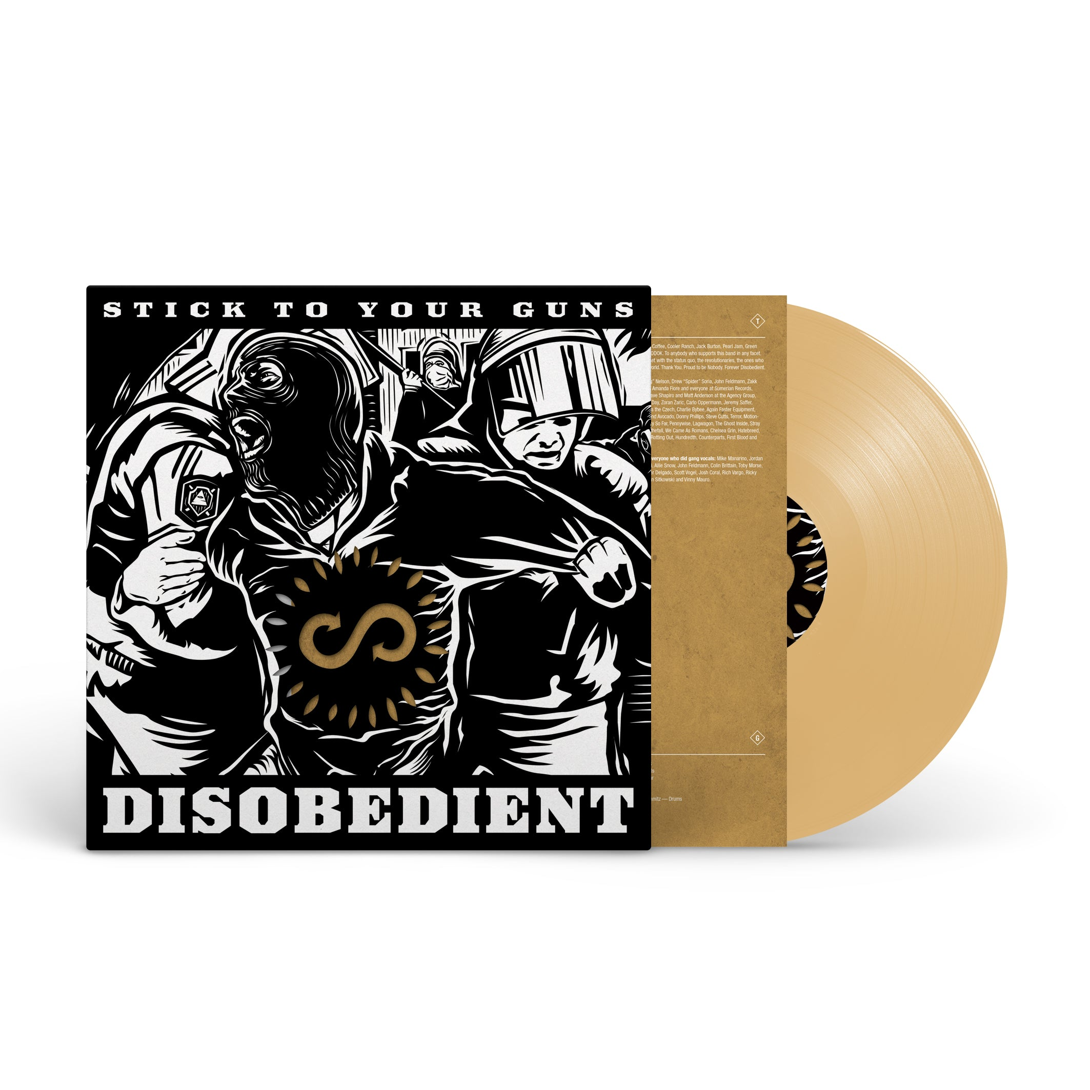 "STICK TO YOUR GUNS ""Disobedient"""