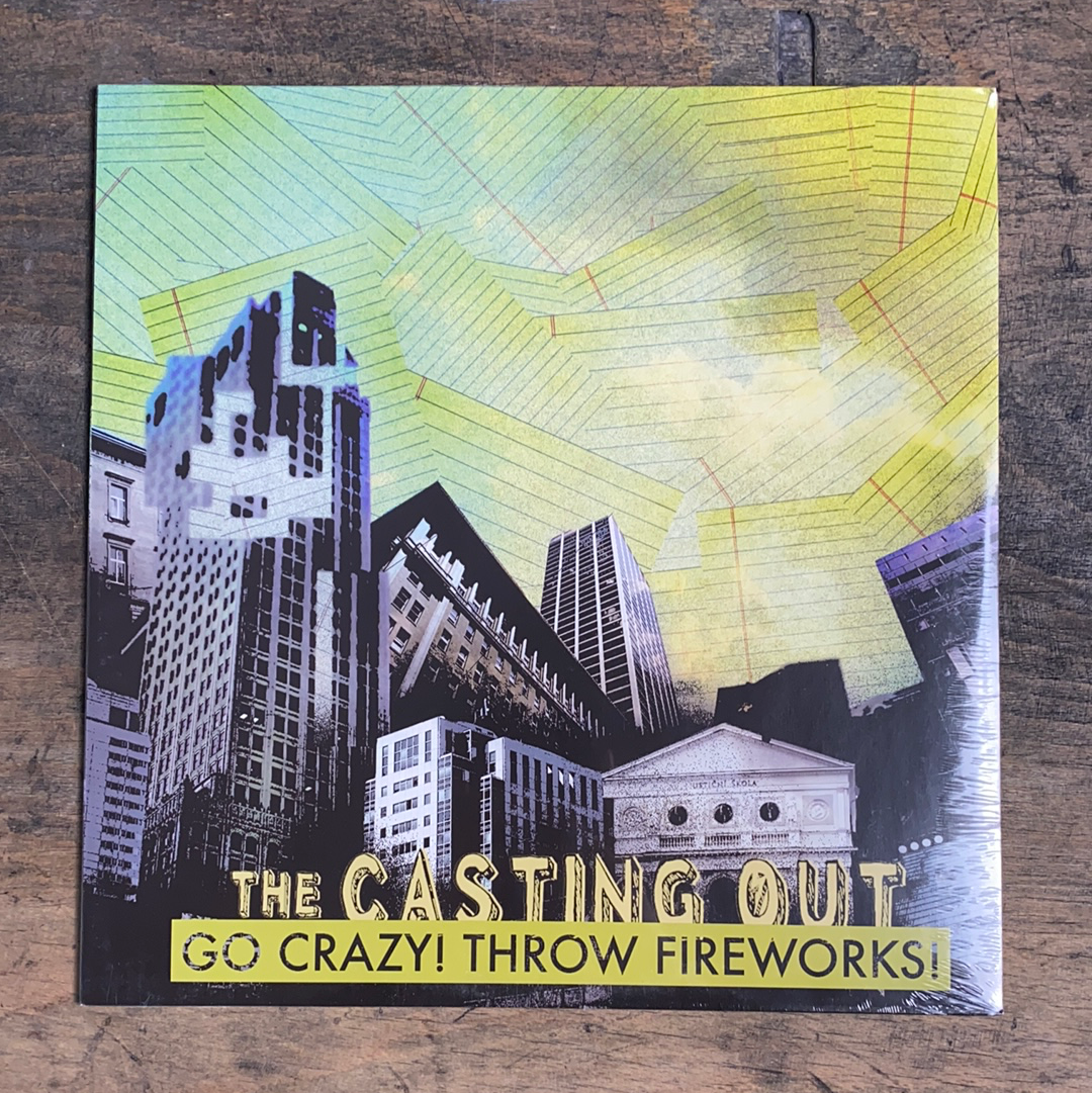 "RARITY: THE CASTING OUT ""Go Crazy! Throw Fireworks! LP"
