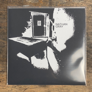 "RARITY: NATHAN GRAY ""Nthn Gry"" LP (Screenprinted Cover Of Second Press)"