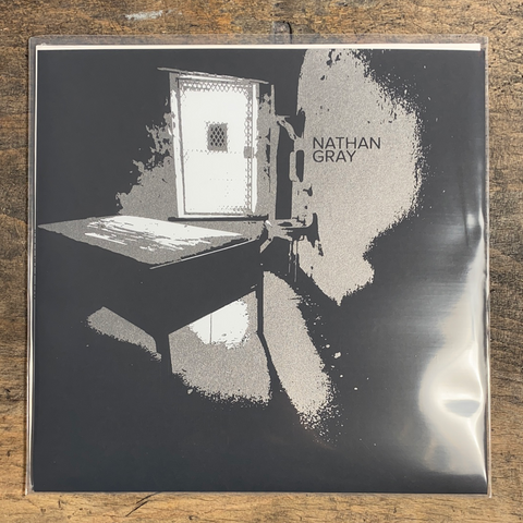 "RARITY: NATHAN GRAY ""Nthn Gry"" LP (Screenprinted Cover Of First Press)"