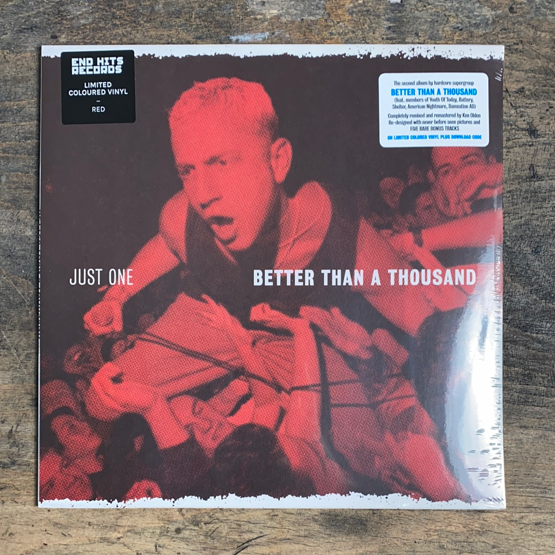 "RARITY: BETTER THAN A THOUSAND ""Just One"" LP (Coretex Exclusive Edition)"