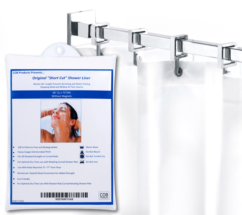 Mildew Resistant Shower Curtain Liners