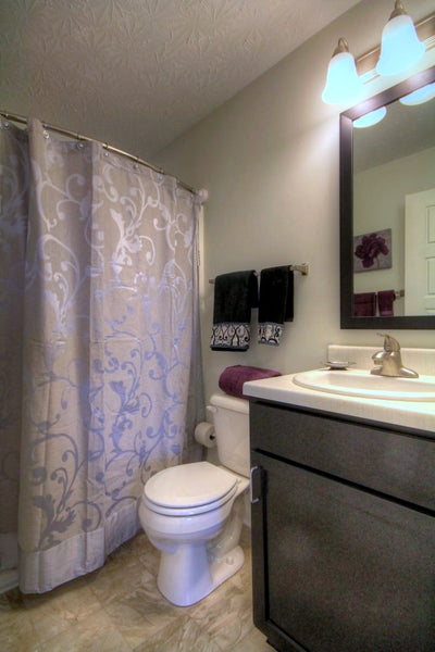 Apartment Property Manager Endorses the Curved Shower Rod that Rotates: Video from Bathroom Bliss by Rotator Rod