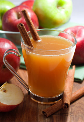 Cider Smack cocktail recipe with bourbon, apple cider, lemon juice... 6 Easy, Spa-Inspired Recipes for a Relaxing Thanksgiving Feast from The Bathroom Bliss Blog by Rotator Rod