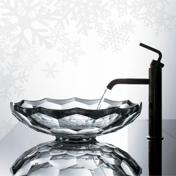 modern, elegant, and ultra luxurious glass sink from Kohler... Bathroom Design Ideas: Beautiful Sink Inspiration from Bathroom Bliss by Rotator Rod