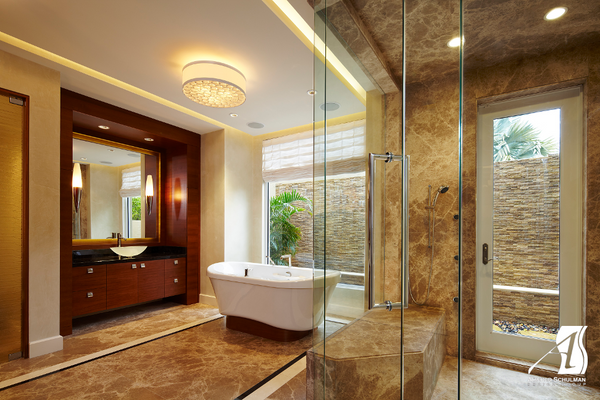 Bathroom design trends miami style rotator rod for Florida bathroom designs