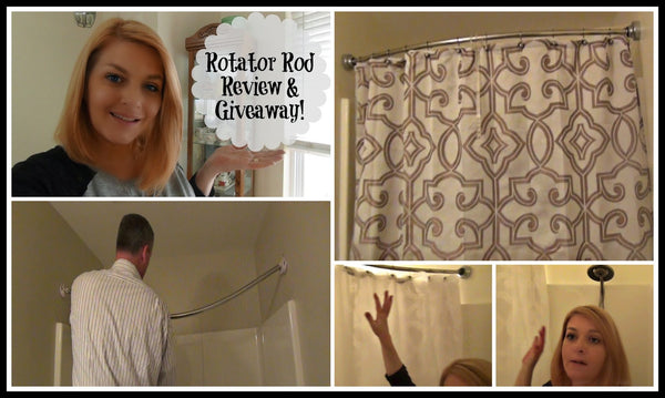 Rotator Rod Demo, Review, and Giveaway on KJaggers.com! from Bathroom Bliss by Rotator Rod