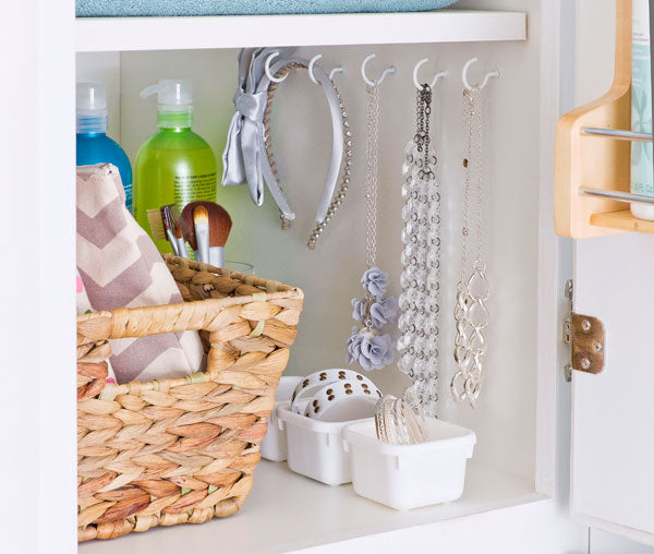 under the sink bathroom cabinet storage and small bathroom chic space