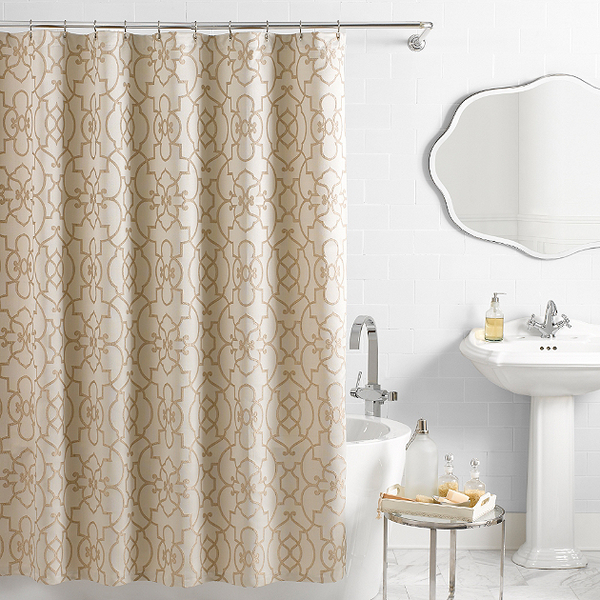 Sophisticated Fall Shower Curtains For Guest Bathrooms