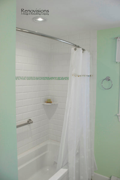 Straight Vs. Curved Shower Rods – Rotator Rod