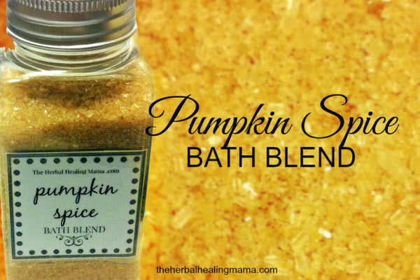 easy Pumpkin Spice Bath Blend recipe... Turn Your Bathroom into a Spa with DIY Fall Beauty Treatments from Bathroom Bliss by Rotator Rod