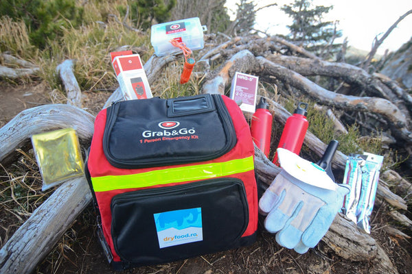 Kit de supraviețuire SURVIVOR® Grab & Go