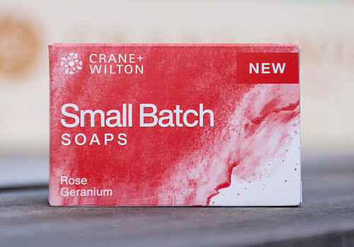 Natural Rose Geranium Soap