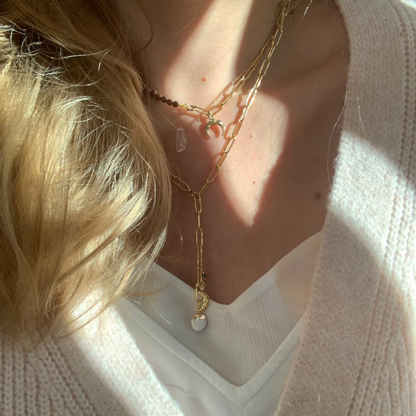 Collier grands maillons