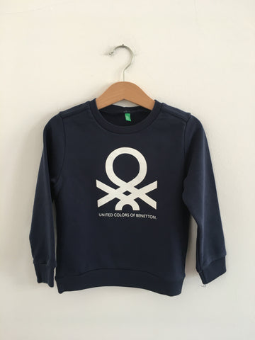 Sweatshirt BENETTON 3/4 Anos