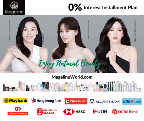 Mageline skincare 0% easy payment plan