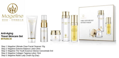 Mageline Anti-Aging Travel Skincare Set