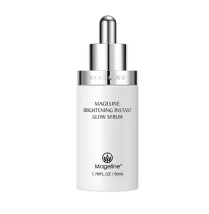 Mageline Brightening Instant Glow Serum, eliminate pigmentation, freckles, dull skin, uneven skintone, brighten up skin tone. [Mageline Snowy White Bottle] Brighten and even out skin tone in 2 weeks' time to reveal lustrous younger look!