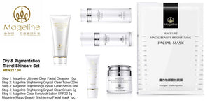 Mageline Dry & Pigmentation Travel Skincare Set