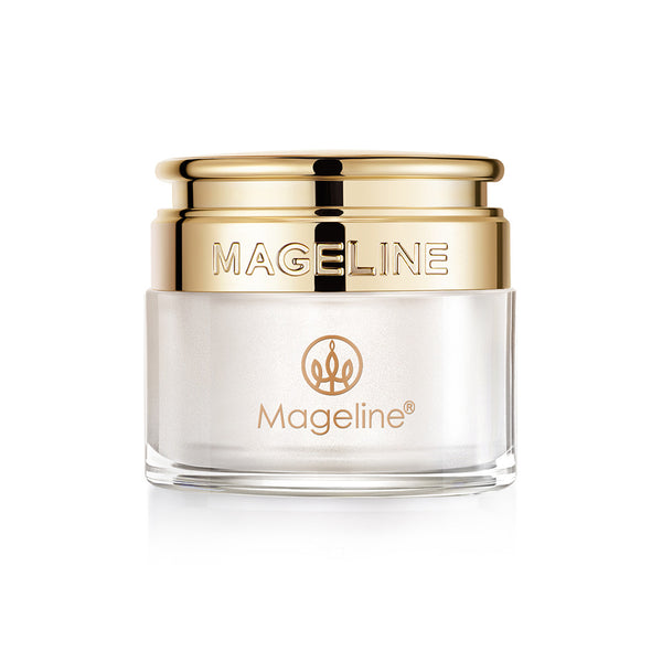 Mageline Noble Lady Cream is the best seller product of Mageline, a natural skincare product to replace BB foundation cream, it naturally brightens the skin to its brilliance. The hydrolysed sheep placenta extract helps dissolve and exfoliate the skin, repair damaged skin structure, dilute fine wrinkles. The rose oil extract helps dilute spots and scars, close up pores and promote metabolism. The jellyfish extract rejuvenates the skin while preventing wrinkles, improves skin tone and clean up blemishes.