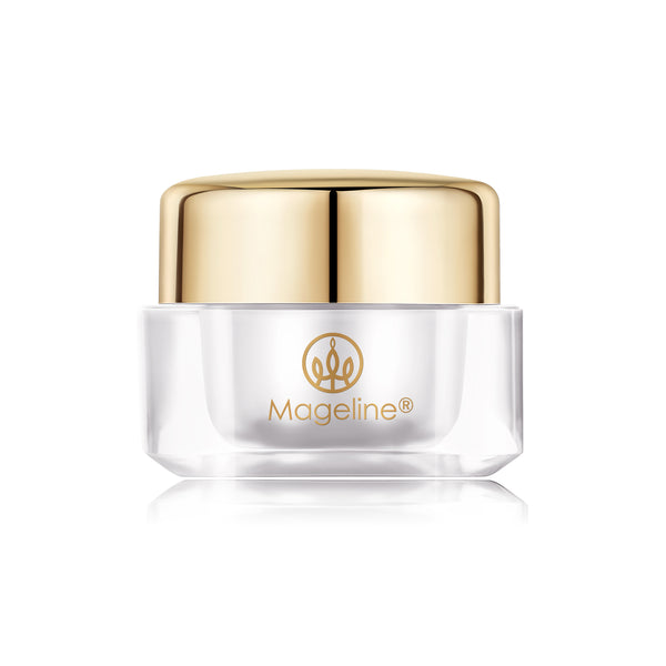Mageline Ultimate Whitening Smoothing Cream. Suppresses melanin synthesis, reducing dark spots and hyperpigmentation, and leaving a radiant, even skin tone and good complexion. Powerful protection from free radicals and 24-hour hydration, it helps stimulate skin metabolism, tighten, moisturise and firm up your skin, and restore elasticity and keeping your skin supple and moisturised.