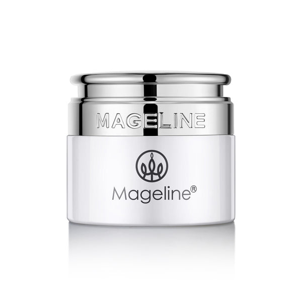 Mageline Brightening Crystal Clear Cream. Light creamy texture, silky touching, moist but non-greasy formula. It helps purify skin and even skin tone, brightening and leaving skin hydrated, improve skin elasticity and firmer skin, and reduce the appearance of wrinkles and fine lines, improve your overall appearance and keep you looking younger. Suitable for dry, freckles and pigmentation skin.