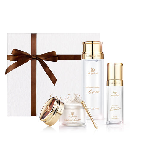 Mageline 3-Step Skincare. Restore Baby-Like Skin within 28 days with Mageline 3-Step Signature Skincare Set. Achieve visibly younger, smoother, firmer and more radiant skin.