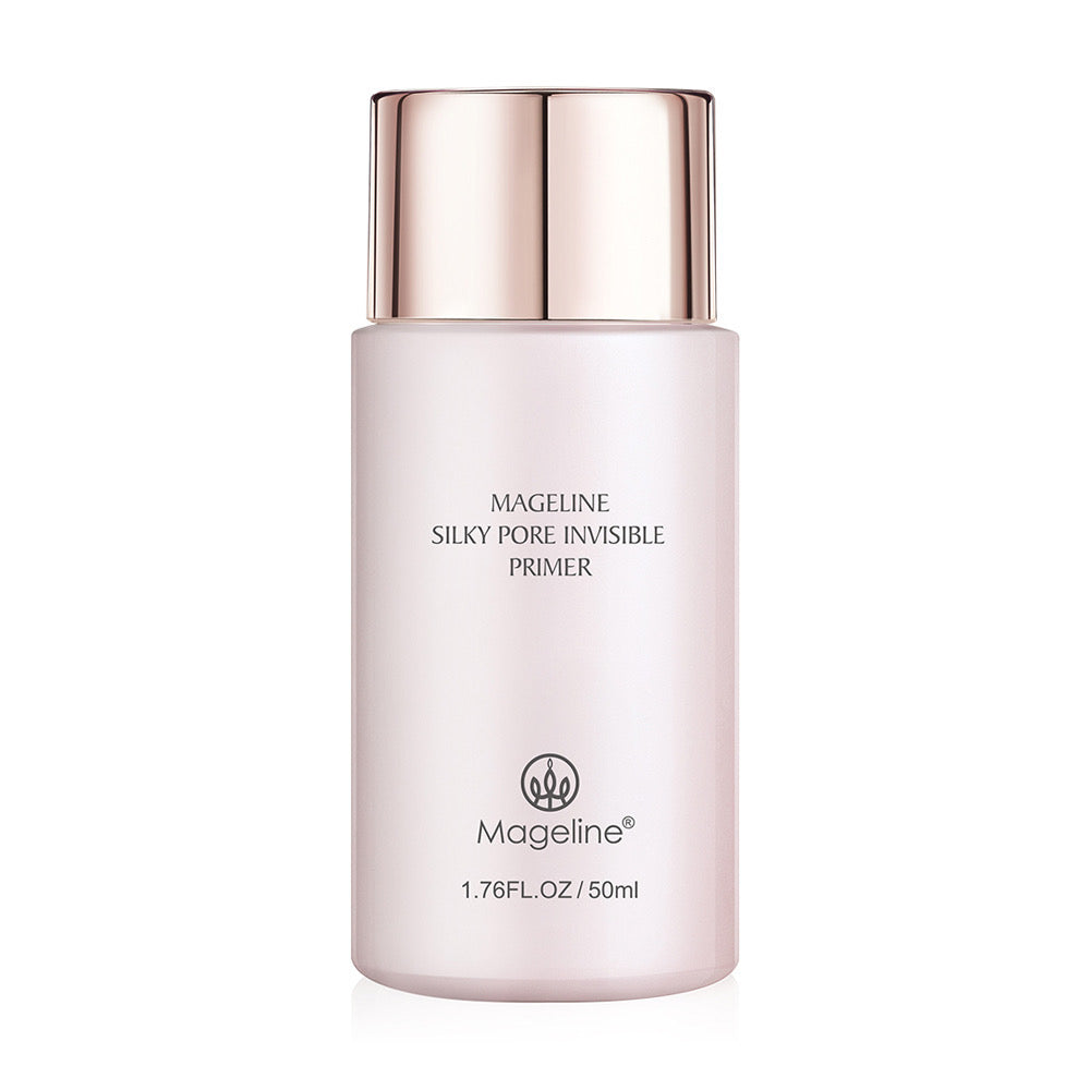 Mageline Silky Pore Invisible Primer 50ml Looking to smooth out your complexion or minimise the look of pores and texture? Smoothing, blurring, pore-filling primer - this is the right primer for you. Also helps to keep your foundation or concealer from sinking or settling into pores,  plus it noticeably reduces oiliness.