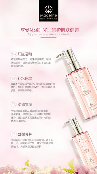 Promotion: Mageline Cherry Blossom Body Care Set