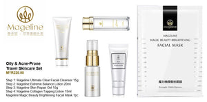 Mageline Oil & Acne-Prone Travel Skincare Set