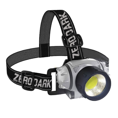 ZERODARK - 3 PIECE TACTICAL SET: LANTERN + FLASHLIGHT + HEADLAMP