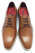 Load image into Gallery viewer, RIBBLE ; LEATHER DERBY SHOE HAND DYED IN A COLOUR OF YOUR CHOICE - northern sole footwear