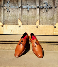 Load image into Gallery viewer, RIBBLE ; LEATHER DERBY SHOE HAND DYED IN STUNNING TAN - northern sole footwear
