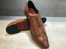 Load image into Gallery viewer, KIRK BROGUE IN ANTIQUED RICH TAN SIZE 7 & 10