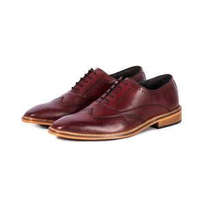 Mitton hand dyed oxford. Full leather sole.