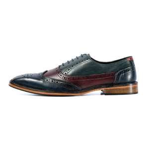 KIRK BROGUE IN CUSTOM THREE COLOUR COMBINATION - northern sole footwear