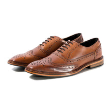 Load image into Gallery viewer, KIRK BROGUE IN ANTIQUED RICH TAN SIZE 10 - northern sole footwear