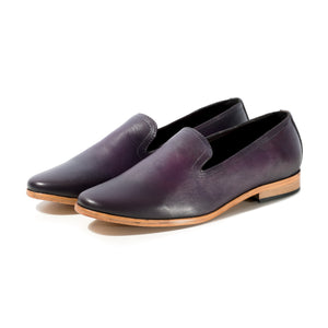 PLAYA LEATHER LOAFER IN CUSTOM PURPLE GRADIENT SIZE 11 - northern sole footwear