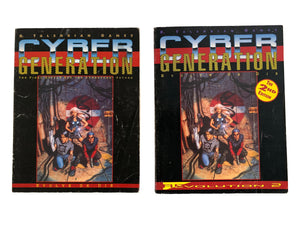 Cyber Generation RPG Book x 2
