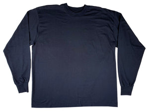Fruit of the Loom Best Black Blank L/S Shirt