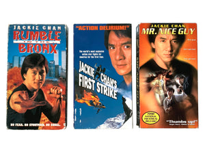 Jackie Chan VHS 3-Pack