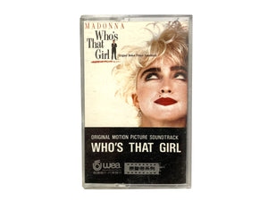 Madonna Who's That Girl Soundtrack Cassette Tape