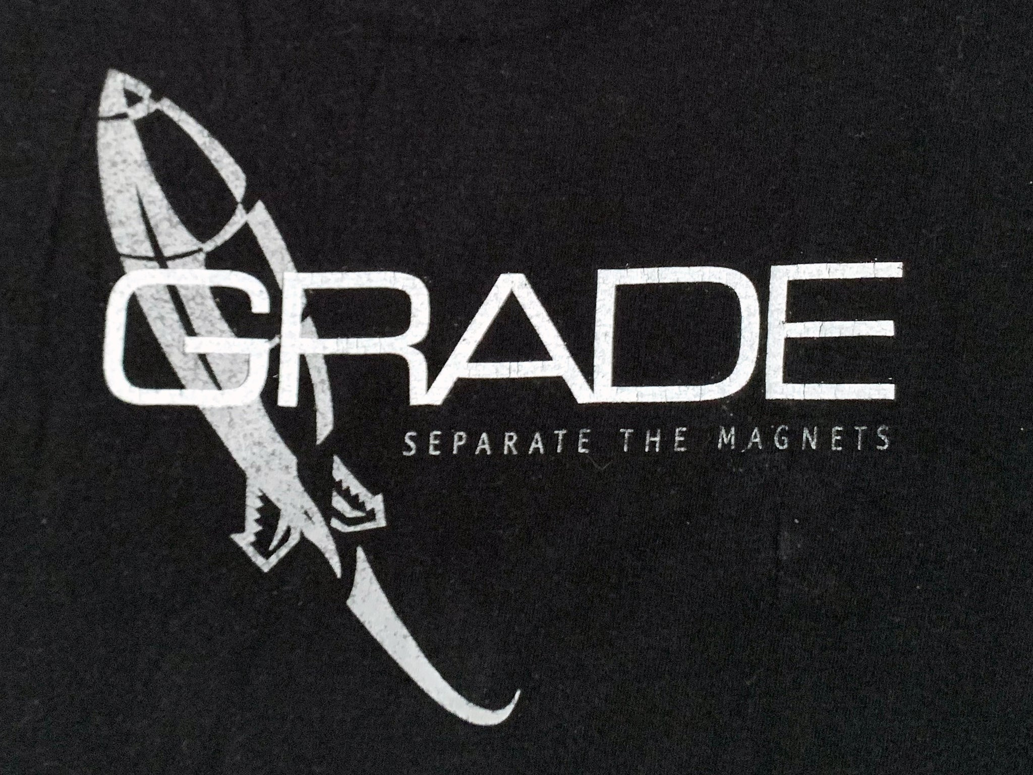 Grade Separate the Magnets Black T-Shirt