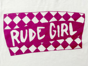 Rude Girl Sleeveless Crop Top
