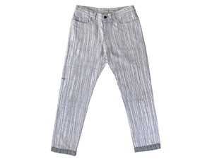 Grey Stitching Trousers