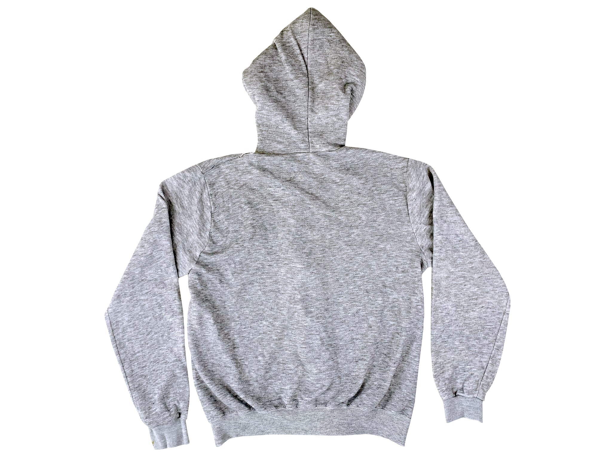 Heather Grey Blank Tri-Blend Zip Up Hoodie (Medium)